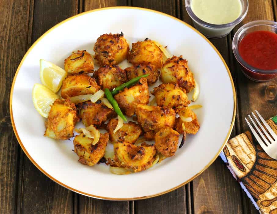 potato bites, spicy potatoes, oven roasted potatoes vegan gluten free keto
