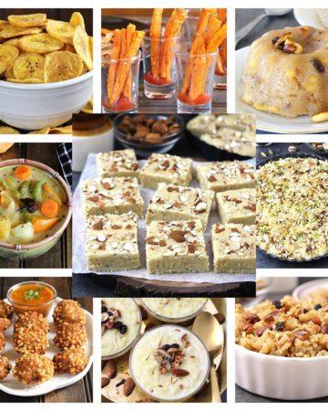 vrat,fasting, upvas prasad recipes for navratri 9 days, ashtami, ganesh chaturthi, diwali, karwa chauth, varalaxmi vratam