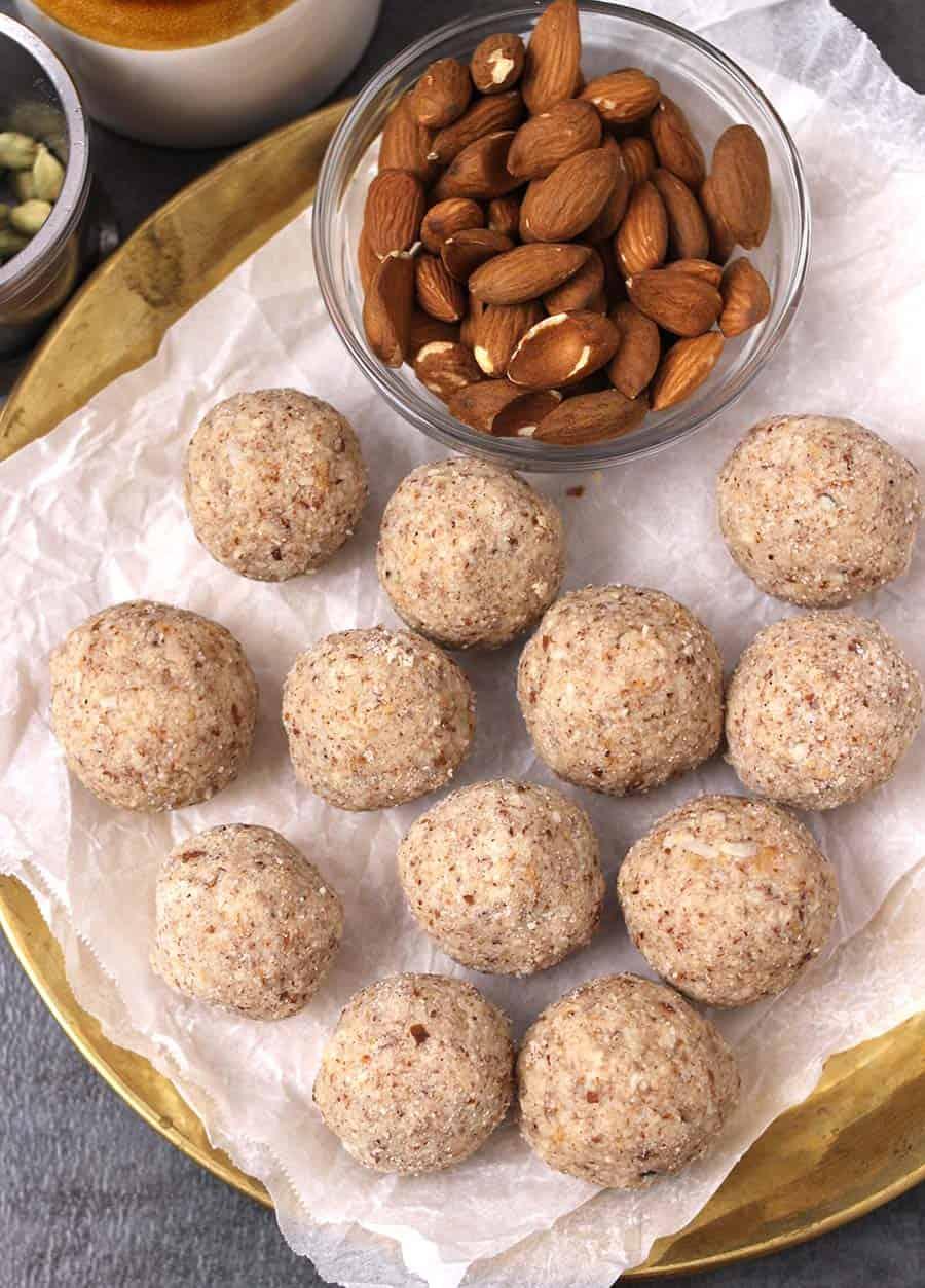 Almond bars, Fudge, Badam Pista, Almond cake and benefits