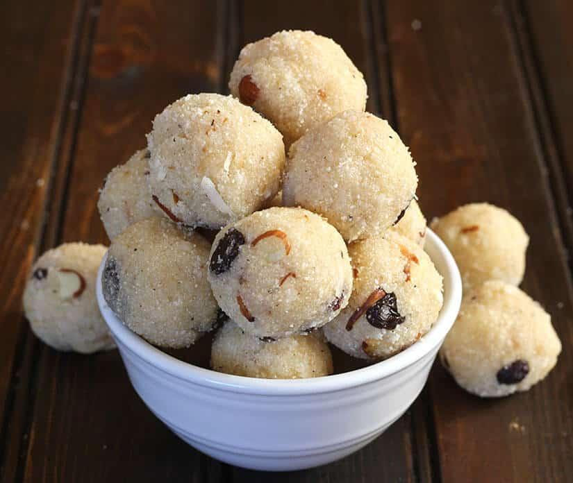 laddoo, laddu, ladoo , Indian sweets recipes, Indian dessert recipes fasting recipes, vrat recipes, prasadam recipes