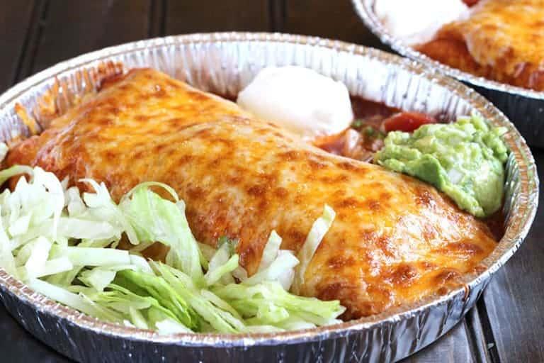 Enchilada Style Burritos - Dinner recipes