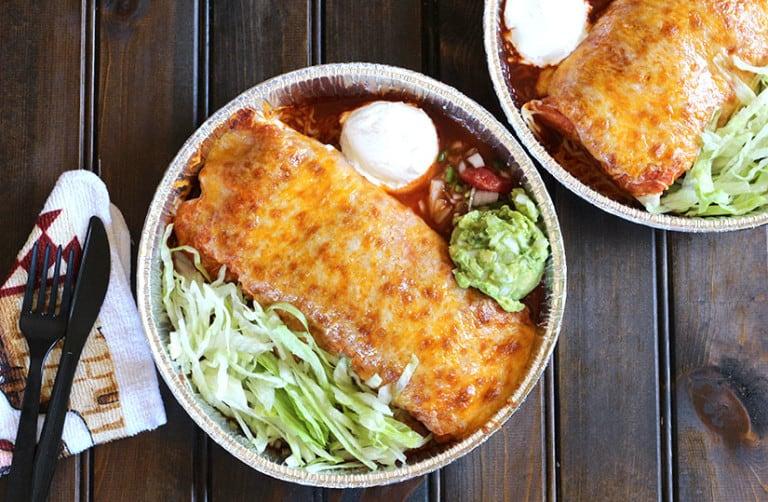 Enchilada Burritos, Beef ENchilada Recipe, Enchilada Casserole, christmas dinner, enchilada sauce
