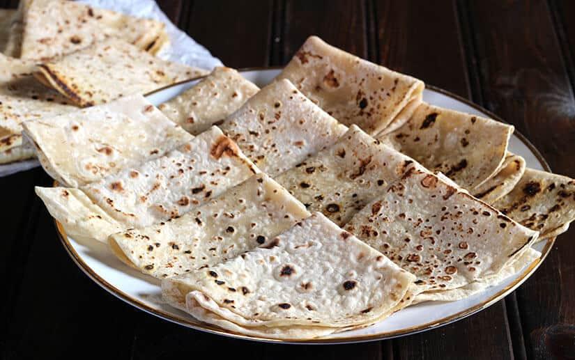 Rumali roti on tawa, India food recipes, Indian curry, Vegan flatbread, roti near me