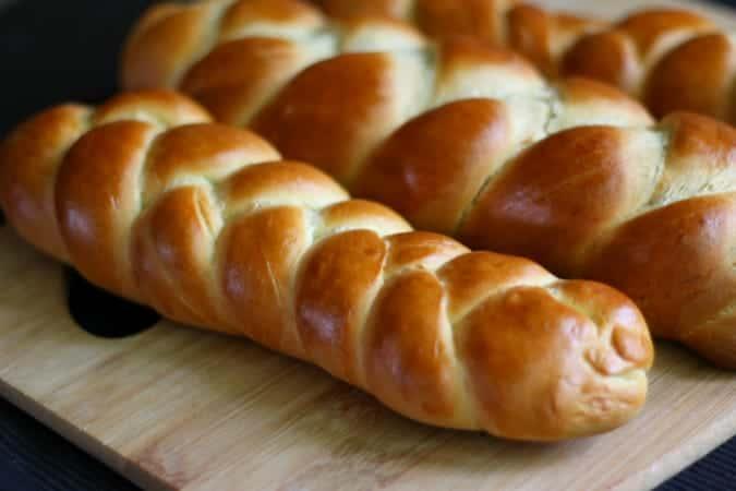 Zopf Bread Swiss Bavarian Austrian braided bread