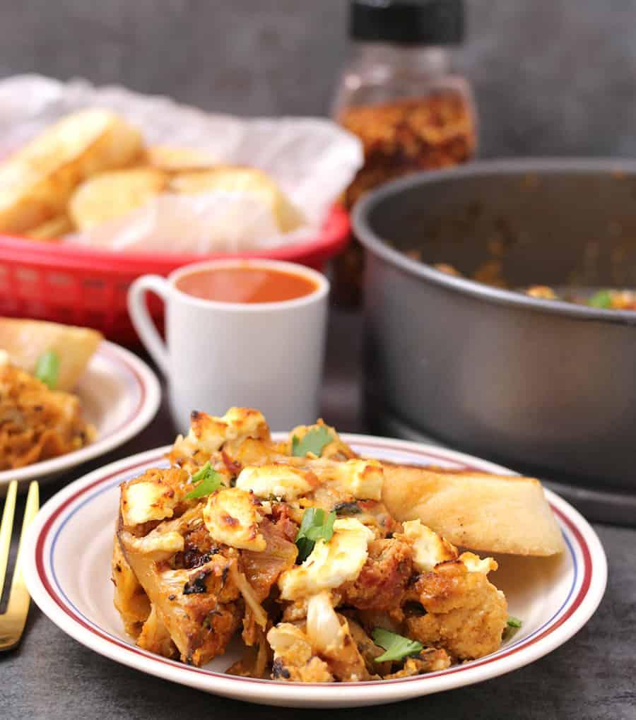 cauliflower potato gratin, dinner casseroles, dinner sides, dinner casseroles