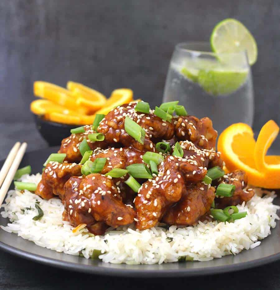 Orange chicken, sesame chicken, sticky chicken, sweet and sour chicken, general tso chicken , simple and easy chicken recipes for dinner.
