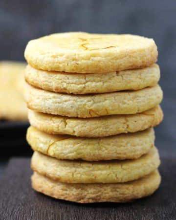 Tea Biscuits   How to make bakery style Osmania Biscuits or Moon Biscuits or Cardamom Cookies or saffron Flavored Biscuits