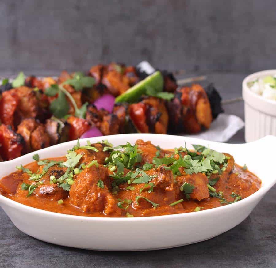 Indian chicken tikka masala recipes, naan and curry, roti and gravy, tikka masala sauce, chicken dishes for dinner, chicken thighs recipe