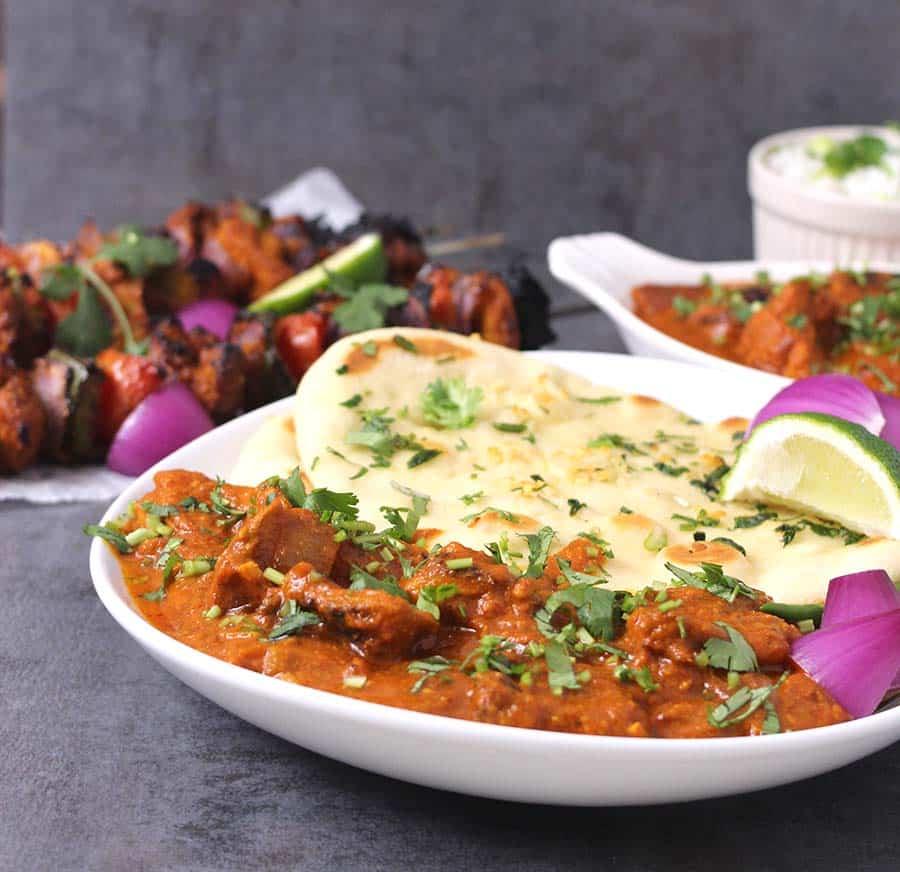 chicken tikka masala, keto chicken recipes, chicken dishes for superbowl, gamenight, Indian chicken, gluten free chicken, yogurt marinated chicken
