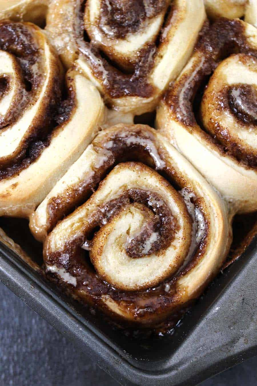 Best and Easy Cinnamon rolls from scratch homemade with brown butter and cream cheese frosting