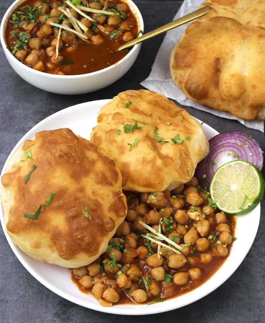 How to make bhatura, Punjabi Chana Bhatura, amritsari chole bhature