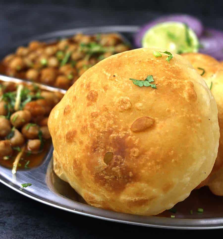 Chole Bhature, How to make bhatura, Punjabi Chana Bhatura,