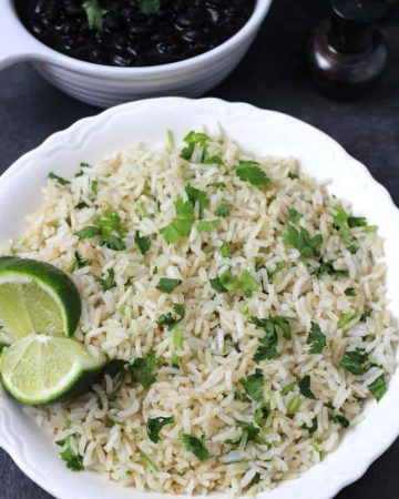 Cilantro Lime Rice, Authentic perfect Mexican Rice, Instant pot mexican rice recipes, mexican rice chickenbowls recipes, mexican jasmine rice, how to make restaurant style mexican rice, copycat Chipotle style recipes