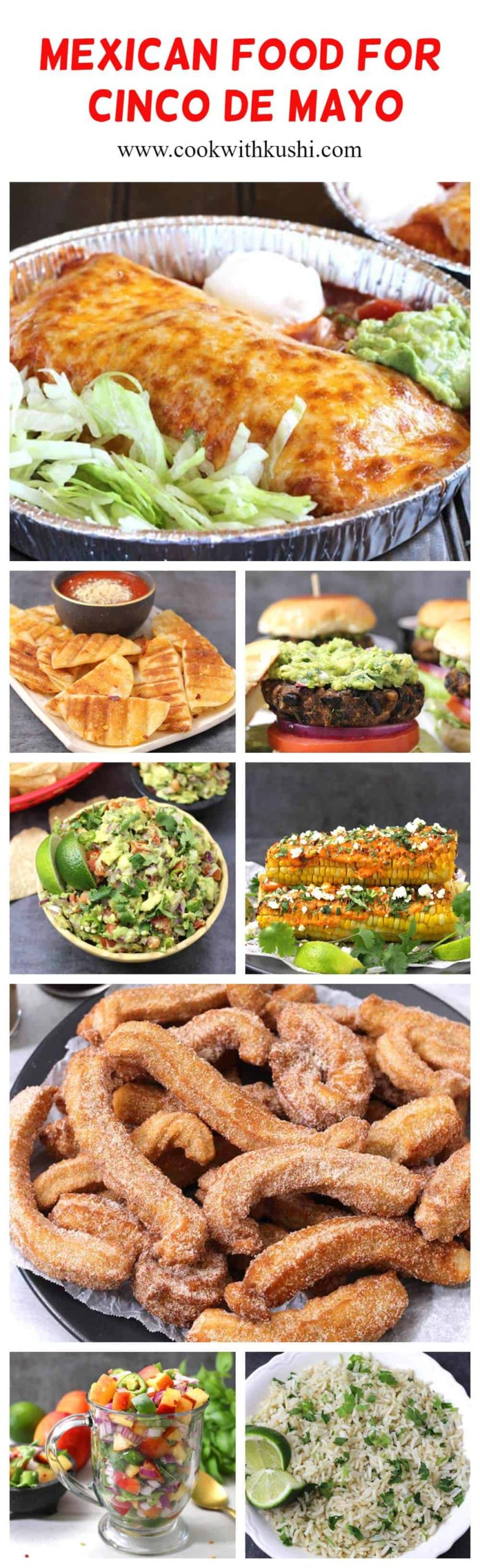 10 best & easy mexican food recipes for cinco de mayo #cincodemayopartyfood #cincodemayodesserts #cincodemayodinner #mexicanfood #authenticmexican #mexicanrecipes #mexicancuisine #texmex #churros #enchiladas #fajitas #empanadas #chimichangas #tostadas #salsa #picodegallo #burritos #refriedbeans #blackbeans #rice #instantpot #keto #vegan #vegetarian #dinnerideas #mealplanning #partyfood #jicama #easyrecipes