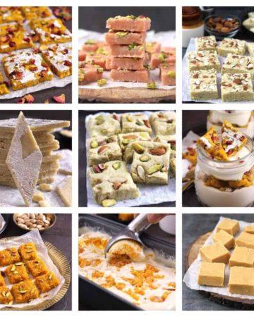 Burfi, Barfi quick, best, easy Indian sweets recipes diwali, holi, rakhi, Navratri, Christmas #burfi #barfi