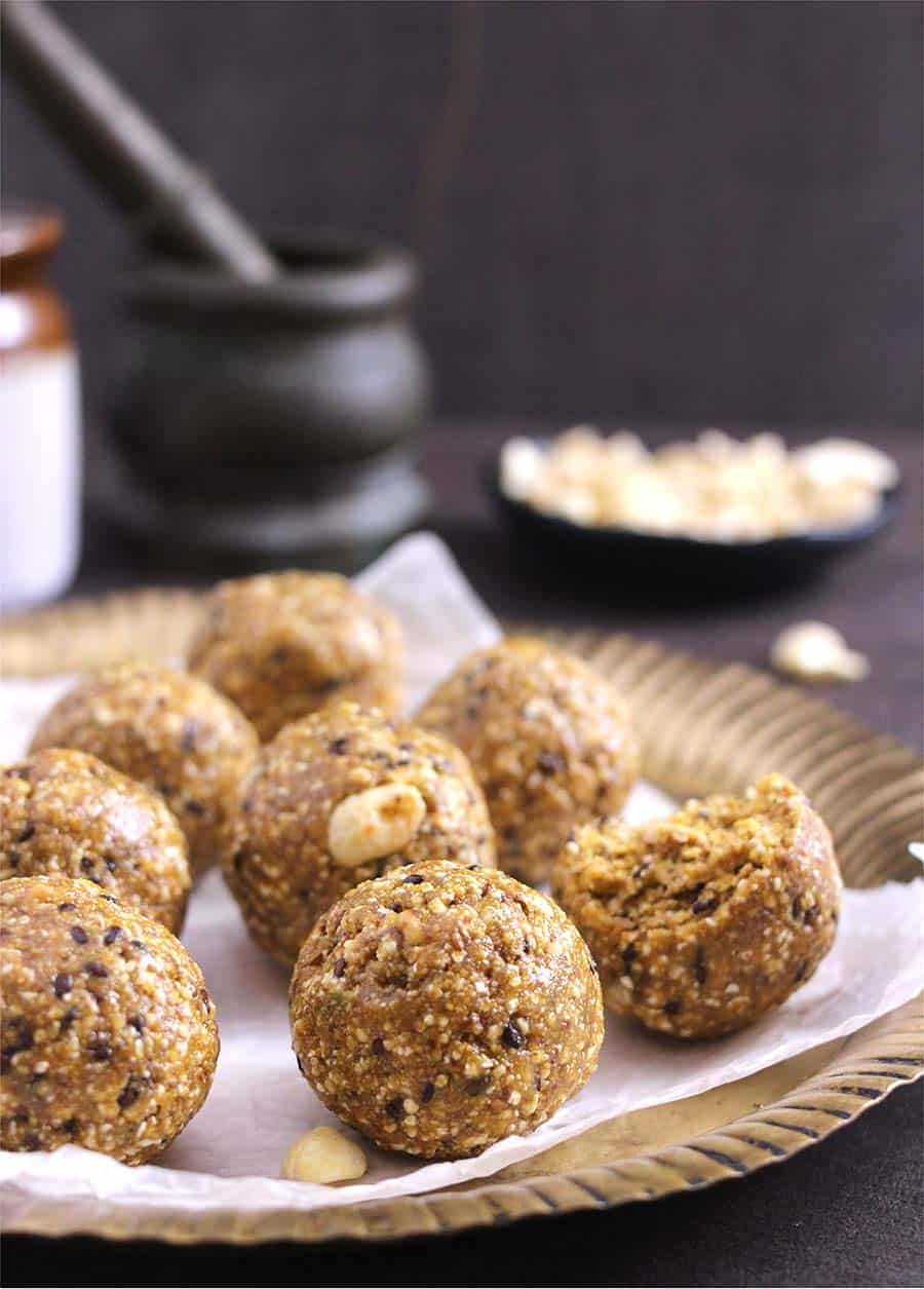 Laddu   How To Make Ladoo With Jaggery - Cook With Kushi